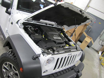 AEM 21-8316Ds installed on 2013 Jeep JK 3.6L PentaStart engine