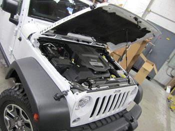 AEM 21-8316Ds installed on 2013 Jeep JK 3.6L PentaStart engine