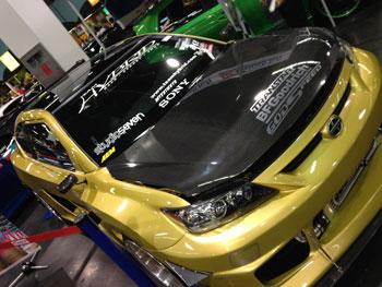 Team Hybrid's custom Scion Challenge XD with AEM Performance Parts