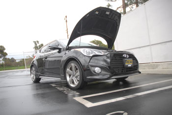 2013 Hyundai Veloster with AEM 21-724C at AEM Hawthorne