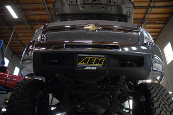2013 Chevrolet Silverado 2500 with AEM 21-9033DS