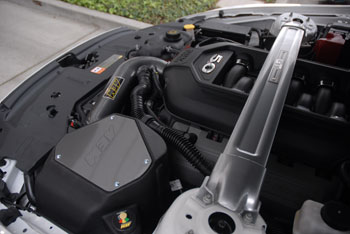 AEM 21-8122DC installed on 2013 Ford Mustang 5.0