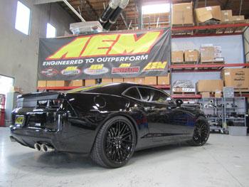 2013 Chevrolet Camaro SS with 6.2L V8