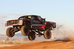 Jason Campbell and Camburg Engineering took their new Trophy Truck to the Baja 1000