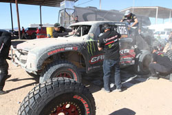 Camburg Engineering new Trophy Truck was finished only days before the race