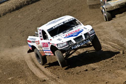 Carl Renezeder added win number 89 to his record book, getting it done in the debut race of the team's brand new Pro-4 truck.