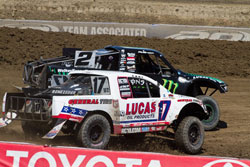 Rounds five and six of the Lucas Oil Off-Road Racing Series, held at Las Vegas Motor Speedway, offered up a mixed bag of thrilling victory and agonizing defeats for Team Renezeder.
