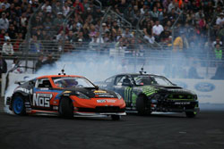 Forsberg faced-off against fellow Drift Alliance teammate, Vaughn Gittin Jr. in the semi-final.