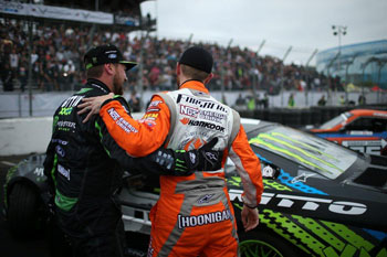 It's safe to assume that Forsberg and Gittin's paths will cross many more times during this year's Formula Drift Championship chase.