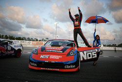 Forsberg currently sits in the number two spot for the winningest drivers in Formula Drift history.