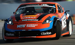 Chris Forsberg and the NOS Energy Drink Nissan 370z