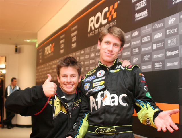 2008 Race of Champions To Air Domestically On Discovery HD Featuring Team USA's Tanner Foust and Carl Edwards