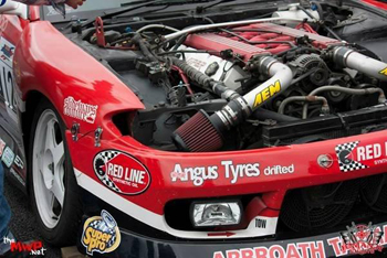 David Waterworth's Super Pro car has the most photographed engine compartment since his 2012 rookie season.