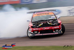 AEM's David Waterworth and his Nissan S15 with the Viper V10 engine held onto the points lead up until the final round