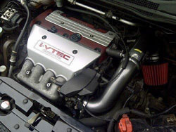 Dragan Deljic's modifications include an AEM Dual Chamber air intake.