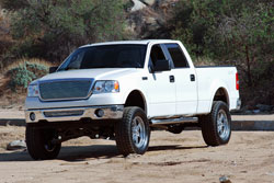 The Ford F-150 remains one of the most popular trucks in America today.