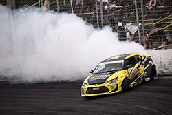 Frederic Aasbo at Formula Drift round 3 in Orlando, Florida