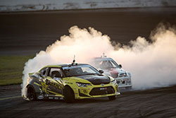 Kristaps Bluss fight Frederic Aasbo at Formula Drift in Orlando, Florida