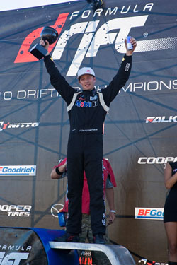 Ryan Tuerck and the Gardella Racing team took an impressive 2nd Place in Irwindale, CA.