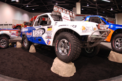 The Ford Protruck of Rich Voss was displayed at the 2008 Off-Road Impact Show