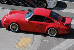 Custom Porsche 911 Carrera at SEMA