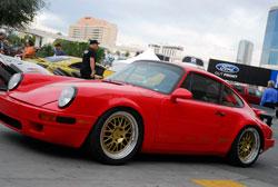 SEMA featured Red 1985 Porsche 911 Carrera