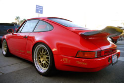 Two weeks prior to SEMA this Porsche 911 Carrera was just a rolling chassis