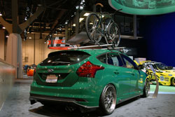 Ford Booth at SEMA featured 2012 Ford Focus