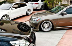 The Platinum VIP style, according to owner Kennedy Nguyen, is primarily about modifying luxury sedans.
