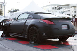 This Nissan 350z includes a laundry list of performance parts.
