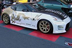 2010 Nissan 370z at SEMA