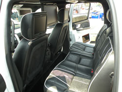 "11.4"" TV's are Installed in Each Seat"