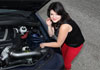 Mayra Soriano and the AEM Air Intake System She Installed on Her 2012 Chevy Camaro SS