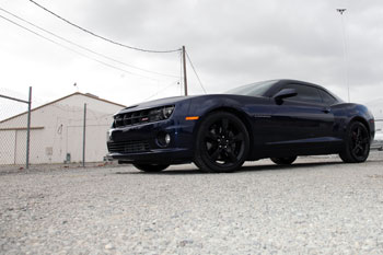 Mayra Soriano did what she could to get that little extra umph out of her 2012 Chevy Camaro SS V8
