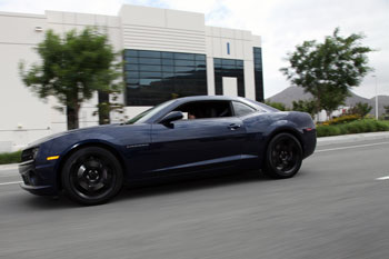 Mayra Soriano customized her Chevy Camaro SS for performance