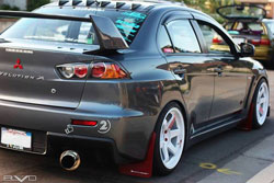 Mike Gutierrez love affair with Mitsubishi Evolution family started when he was just a kid.