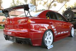 Peter Chaney's SEMA featured 2009 Mitsubishi EVO X