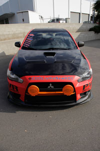 PVR Motorsports' boosted the performance of the Evo X head and fog lights with EFX HID upgrades