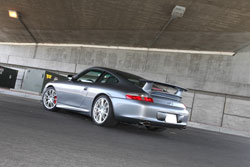 Philip Klotz said he believes that if you work hard, you should reward yourself.  His reward was this AEM filtered Porsche 996 GT3.