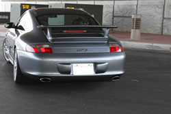 Philip Klotz protects his Porsche 996 GT3 with AEM Universal Performance Air Filters on custom air intake