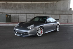 Philip Klotz's highly custom Porsche 996 GT3 goes to the track from time to time.