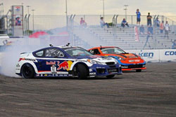 Rhys Millen gets second place in round one of the 2010 Formula Drift