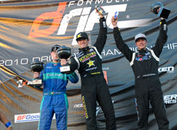 Tanner Foust and team Rockstar Scion take 1st place at Throwdown in Monroe, Washington