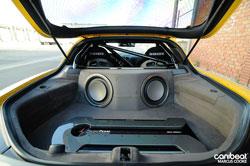 Mazda RX7 Custom Audio System