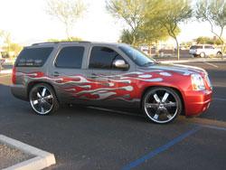 2008 GMC Yukon 5.3L won Best Street SUV trophy at 2010 Phoenix DUB Show