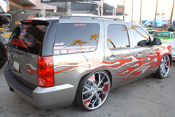 2008 GMC Yukon at the 2011 SEMA Show is a daily driver