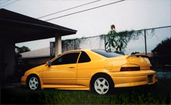 1992 Toyota Paseo modified by Young Tea