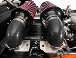 Honda Performance Engineering developed the engine from its turbocharged V6 Indy motor
