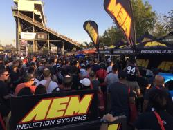 AEM Booth at Irwindale
