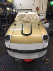 Chris Forsberg 280Z body kit fitting